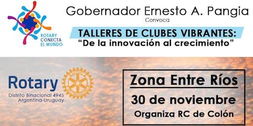"""""""TALLER DE CLUBES VIBRANTES""""- Colón -Entre Rios"""