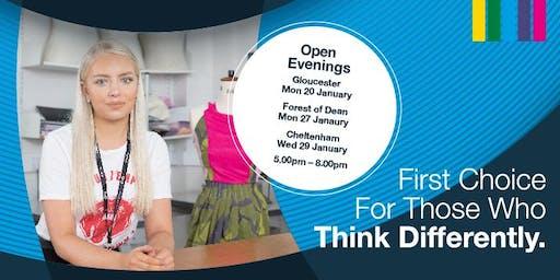 Cheltenham Campus Open Evening - 29 January 2020