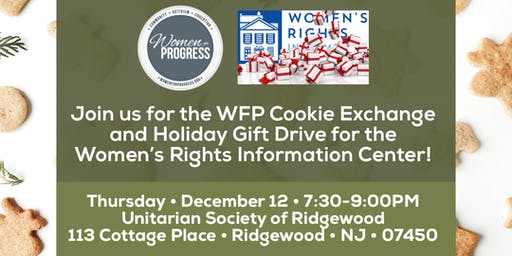 WFP Cookie Exchange & Holiday Gift Drive for WRIC