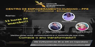 CENTRO DE EMPODERAMENTO HUMANO - 12 HORAS DE IMERSÃO NO MÉIER