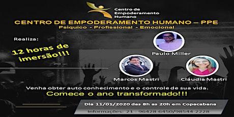 CENTRO DE EMPODERAMENTO HUMANO - 12 HORAS DE IMERSÃO NO MÉIER ingressos