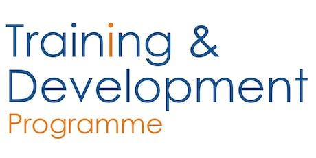 Training & Development Programme: Advanced Bid Writing tickets