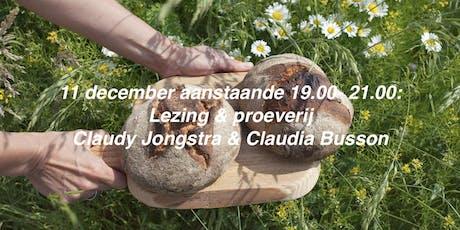 Lezing & proeverij Claudy Jongstra en Claudia Busson tickets