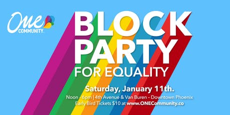 ONE Community Block Party for Equality tickets