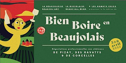 Bien Boire en Beaujolais 2020 - Evénement réservé aux professionnels