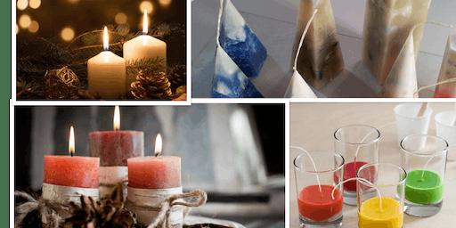Workshop kaarsen maken met essentiële olie