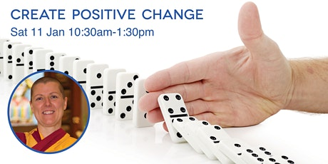 Create Positive Change with Buddhist nun Kelsang Chogma tickets