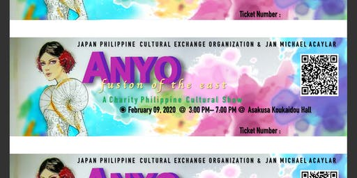Anyo Fusion of the East - Philippine Cultural Show