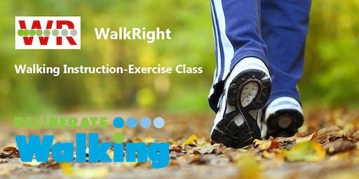 WalkRight: Walking Instruction-Exercise Class