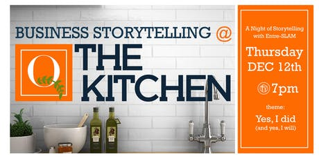 Storytelling at The Kitchen tickets