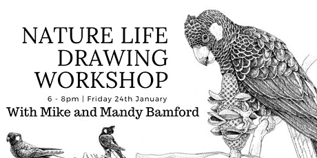 Nature Life Drawing Workshop tickets
