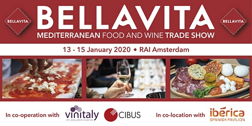 Bellavita Expo Amsterdam 2020 | Mediterranean Food & Wine Trade Show