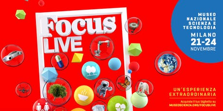 FOCUS LIVE 2019 - Se il futuro accelera a 5G biglietti