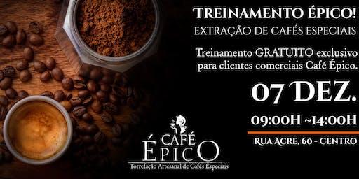 Treinamento Épico - Extração perfeita de Cafés Especiais