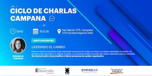 Ciclo de Charlas Campana: LIDERANDO EL CAMBIO