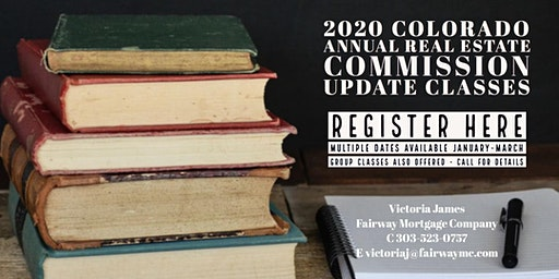 2020 Annual Update Course-4 Hour CE Credits with Victoria James