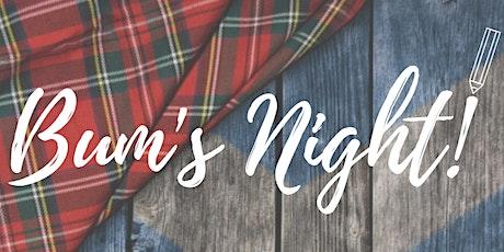 Bum's Night! tickets