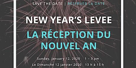 Arts Network Ottawa New Year's Levee   La réception du nouvel an billets