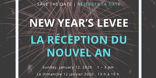 Arts Network Ottawa New Year's Levee | La réception du nouvel an