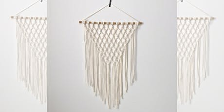 Craft Workshop : Macrame Wall Hanging tickets