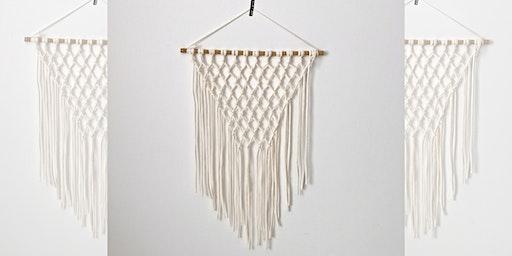 Craft Workshop : Macrame Wall Hanging