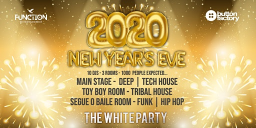 2020 New Year's Eve at the Button Factory