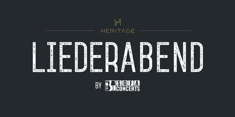 LIEDERABEND in der HERITAGE Bar - CHRISTMAS EDITION Tickets