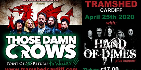 Steelhouse Away Day with Those Damn Crows & Support (Tramshed, Cardiff) tickets