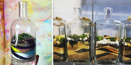 Artists and Makers Series: Upcycled Bottle Terrarium (BYOB&B) tickets