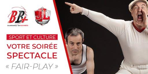 """BB+ Pré-inscription - Votre spectacle """"Fair-Play"""""""