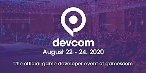 devcom 2020 - the official game developers event of gamescom