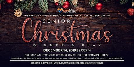 Senior Christmas Dinner & Play tickets