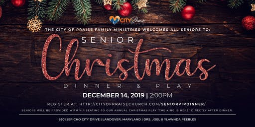 Senior Christmas Dinner & Play