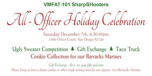 VMFAT-101 All Officer Holiday Celebration