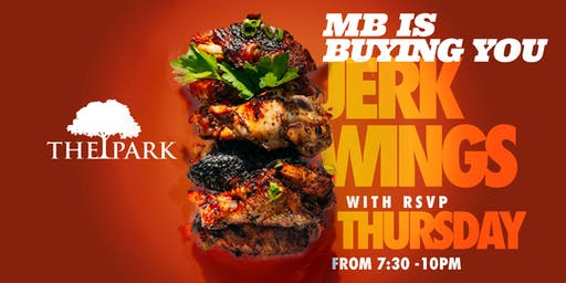 Your Jerk Wings are on MB