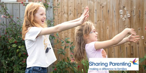 Sharing Parenting's Raising Children 10 week parenting course with creche