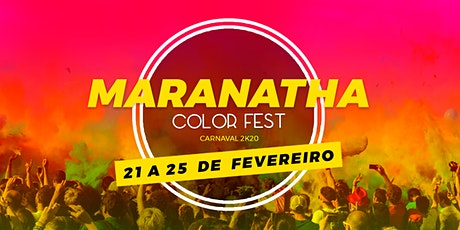 Maranatha Color Fest - Carnaval 2k20 tickets