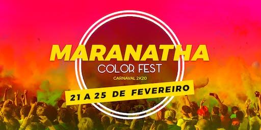 Maranatha Color Fest - Carnaval 2k20