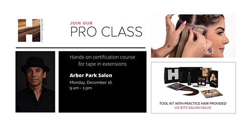 Hotheads® Pro Class - Tape in Hair Extensions Certification Course