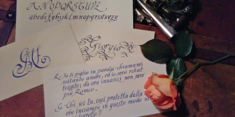 Cancelleresca: la calligrafia dei Papi e delle Corti biglietti