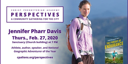 CPA Perspectives : Jennifer Pharr Davis