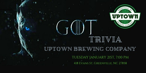 Game of Thrones Trivia at Uptown Brewing Company