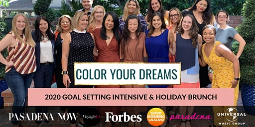 Color Your Dreams: 2020 Goal Setting Intensive + Holiday Brunch for Women