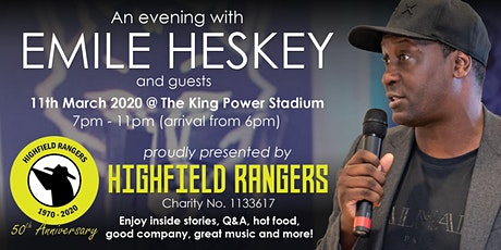 An evening with EMILE HESKEY tickets