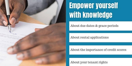 Renting 101 - Tenant Education Workshop tickets