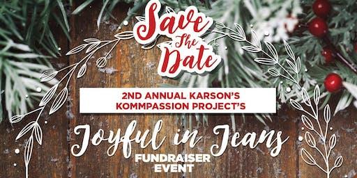 2nd Annual Joyful in Jeans Fundraiser
