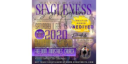 Walking in your Singleness