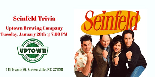 Seinfeld Trivia at Uptown Brewing Company