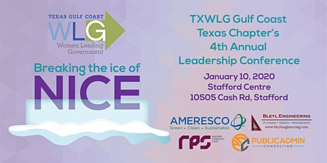 Breaking the Ice of Nice - TXWLG GCTC 2019 Leadership Conference tickets