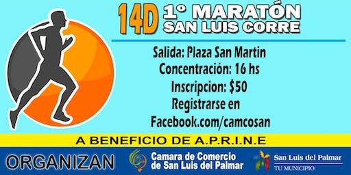1ra  Edición - Maratón San Luis Corre